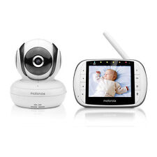MOTOROLA Deluxe Video and Sound Baby Monitor
