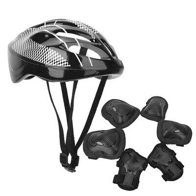 Sports Protection Skateboard Helmet Outdoor Gear Skate Knee Pads Wrist Elbow Set