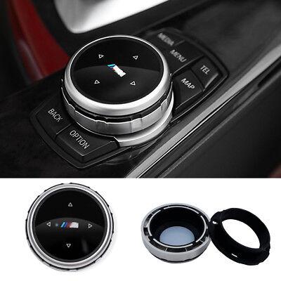 Silver ABS Multi-Media Control Knob For BMW M1 2 4 6 7 3 GT5  X1 X3 X4 X5 X6 etc