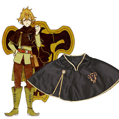 Black Clover Finral Roulacase Black Short Cloak Cosplay Costume Oversize - Oversized Costumes