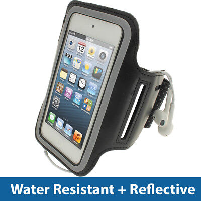 Black Antislip Sports Armband for Apple iPod Touch 6th 5th Generation itouch -
