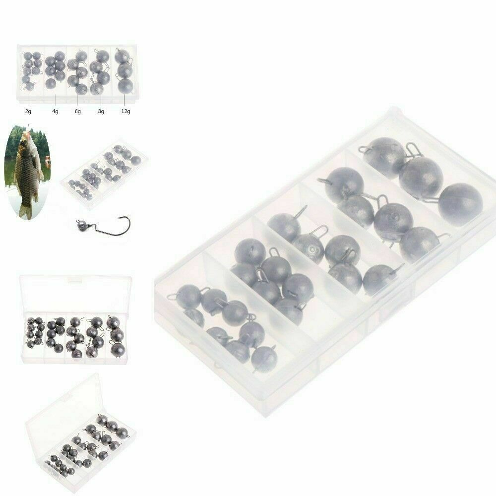 Fishing Lead Sinker Drop Weight Professional Kit Chub Hot Sale Accessories