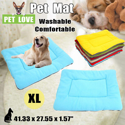 XL Self Heating Pet Dogs Mat Pad Warm Cat Thermal Washable Cushion Blanket