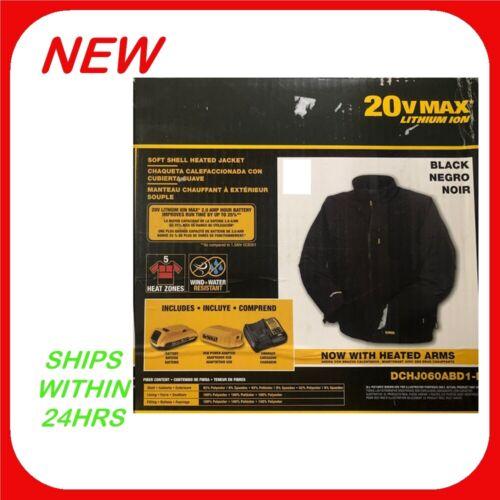 DEWALT Large Heated Jacket  & 20V Battery Kit       R20
