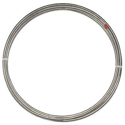 "3/16"" Stainless Steel Brake Tubing; 25' Roll"