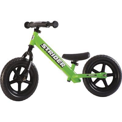 Strider - 12 Sport Balance Bike, Ages 18 Months to 5 Years - Green NEW