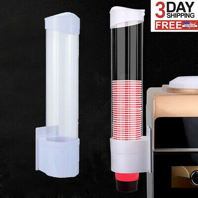 80 Cups Pull Water Cup Dispenser Disposable Paper Beverage Cup Dispenser Holder