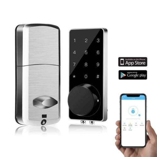 BT-Smart Door Lock Keyless Home Password APP Electronic Code
