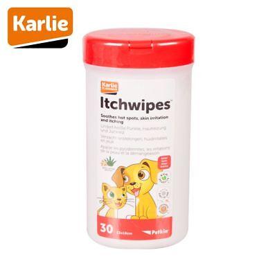 Karlie Petkin - Pflegetücher gegen Juckreiz Hautreizungen - für Hunde & Katzen