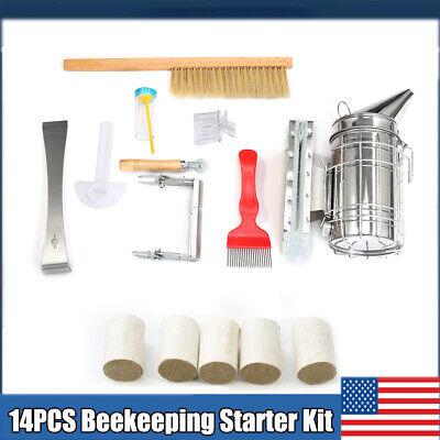 Beekeeping Starter Kit Beekeeping Supplies Bee Smoker Beekeeper Tools Catcher Us