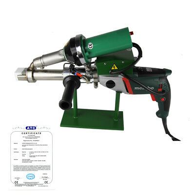 Ac220v 1080w Handheld Plastic Extrusion Welder Hot Air Extruder 5001b Brand New