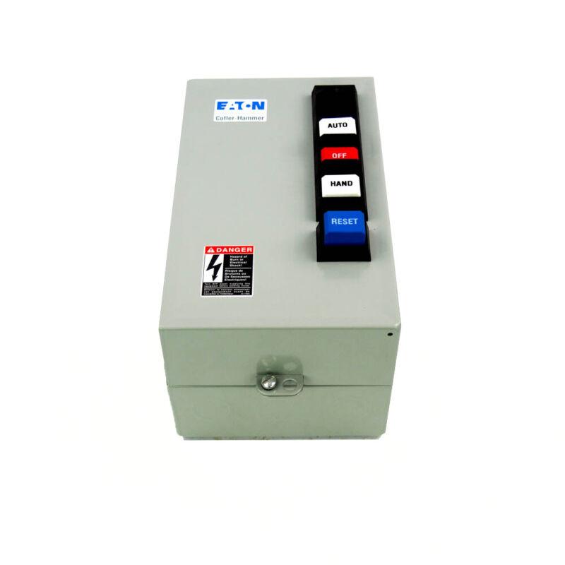 Eaton Cutler-Hammer ECX09C1BHA-R61/B Motor Starter 240VAC .4 to 2A NEMA 1