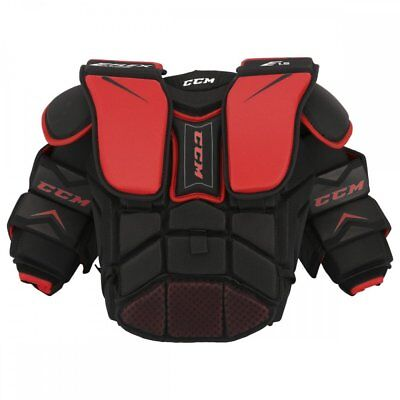 b4b7a08aedc New CCM Youth ice hockey goalie chest and arm protector Extreme Flex Shield  E1.5