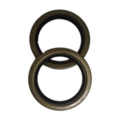 8n4251b Fits Ford Tractor Rear Outer Axle Shaft Oil Seals 2 For 8n To Sn 4867