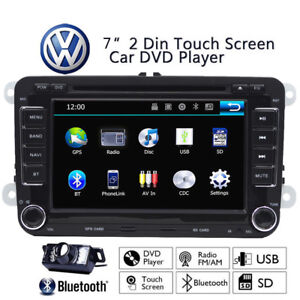 Radio Stereo Multimedia Car DVD Player GPS Navigation For VolksWagen VW EOS 7''