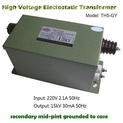 High Voltage Electostatic Transformer Ionsys Antistatic Transformer 15kv30ma450w