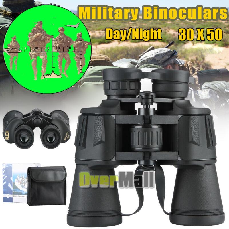 30X50 Binoculars with Night Vision BAK4 Prism High Power Waterproof