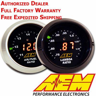 AEM 30-4110 AFR 52mm Wideband O2 UEGO Controller Gauge Air Fuel Ratio NO SENSOR