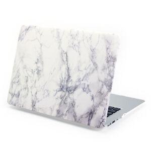Marble Pattern Matte Rubberized Hard Case For Apple MacBook Air, Pro & Retina