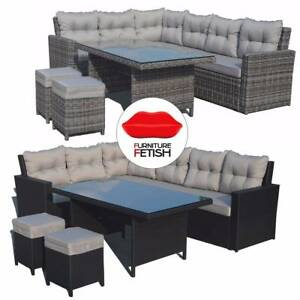 Atlantis Outdoor Furniture Lounge U0026 Dining Combination