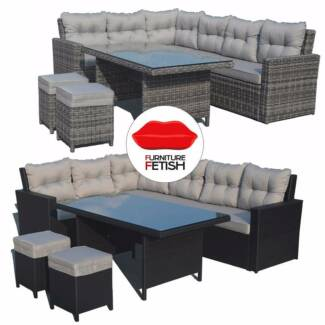 Atlantis Outdoor Furniture Lounge & Dining Combination