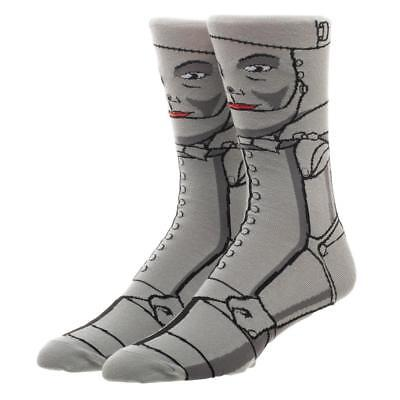 The Wizard of Oz Tin Man Character Crew Socks