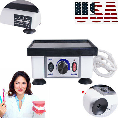 Dental Lab Square Vibrator Model Oscillator Equipment Machine Oral Care Us