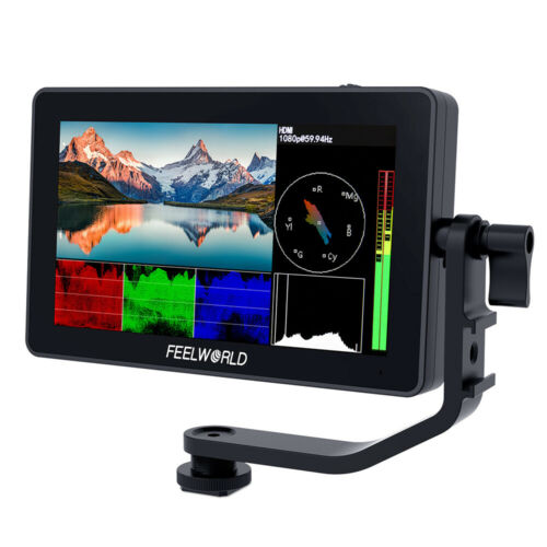 FEELWORLD F6 Plus 5.5 inch DSLR Camera Field Monitor HDR 3D LUT Touch LCD Screen