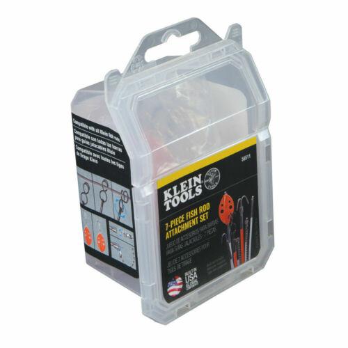 Klein Tools 56511 7-Piece Fish Rod Attachment Set