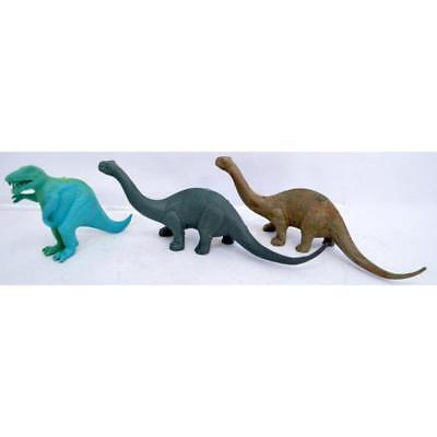 Three Strange Colored Dinosaurs From Marx Dump Potbelly T Rex Etc Lot 280