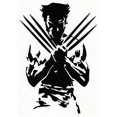 Vinyl Decal Truck Car Sticker Laptop Window - Marvel X-Men Logan Wolverine](Marvel Stickers)