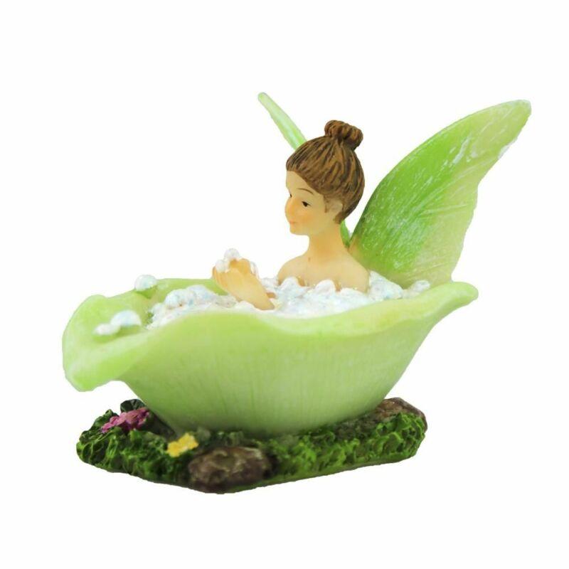 Miniature Fairy Garden Fairy Soaking in Bathtub - Buy 3 Save $5