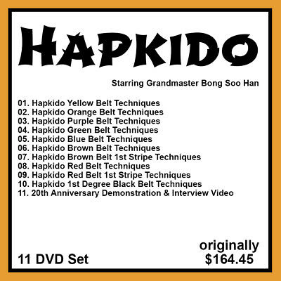 hapkido techniques manual
