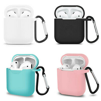 Silicone Protect Cover Skin AirPod Earphone Charger Cases For Apple AirPods Case