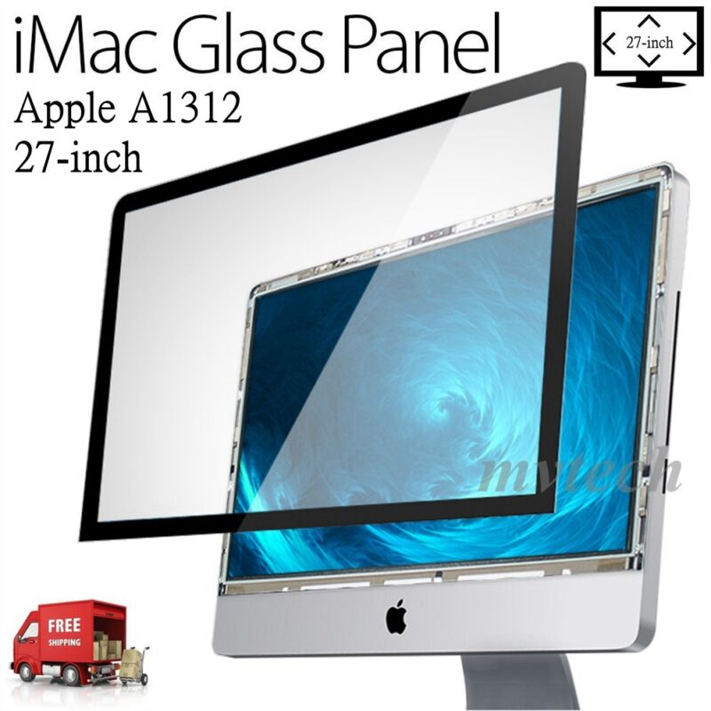 "27-inch 27"" Glass Front Screen Panel for Apple iMac 922-9833 922-9147 A1312"