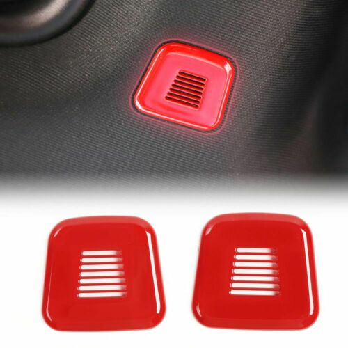 Car Top Microphone Decoration Cover Trim for Dodge Challenger 15-19 Accessories