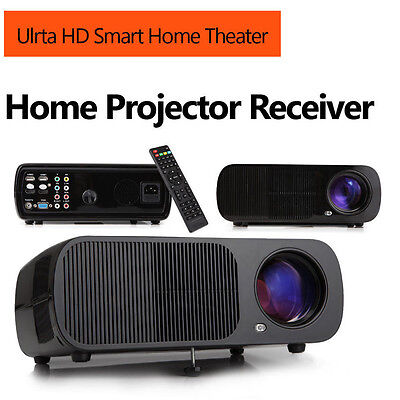 """iRULU BL-20 HD 1280 *800 Home Cinema LED 5.0 """"LCD 3D Projector HDMI with Speaker"""