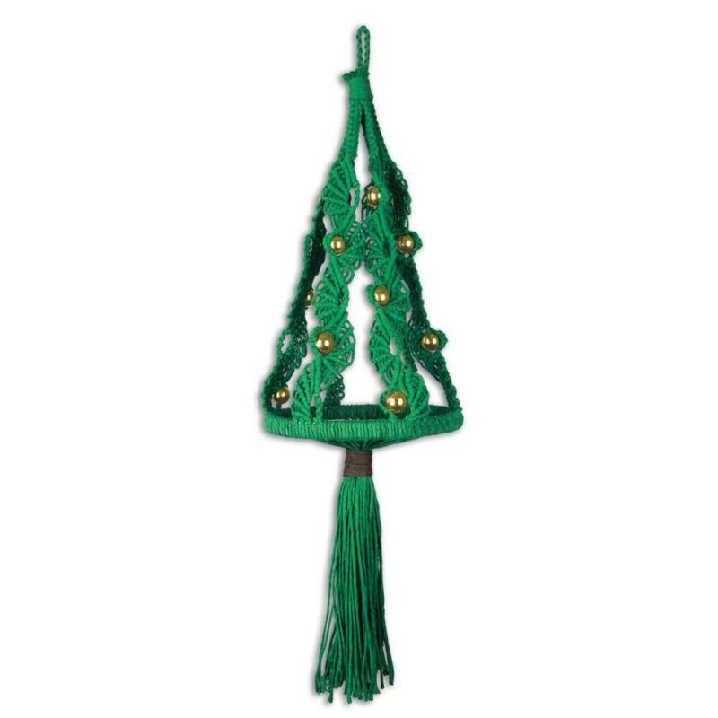 Herrschners® Christmas Tree Kit Macrame