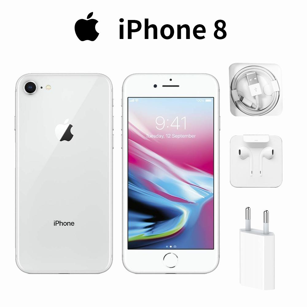 Nuevo Apple iPhone 8 64GB Plata SmartPhone Móvil Desbloqueado Garantía ES