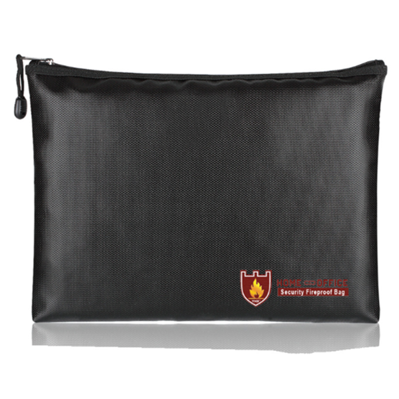 Fireproof Water Money Cash Bag File Pouch