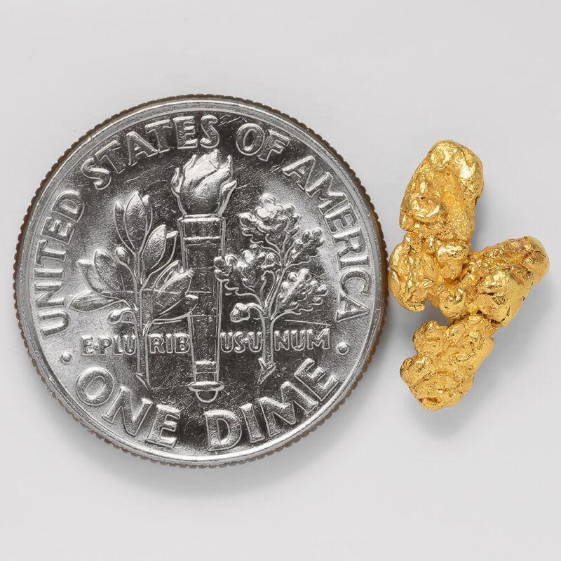 0.9414 Gram Alaska Natural Gold Nugget - (#43253) - FREE SHIPPING - Alaskan Gold