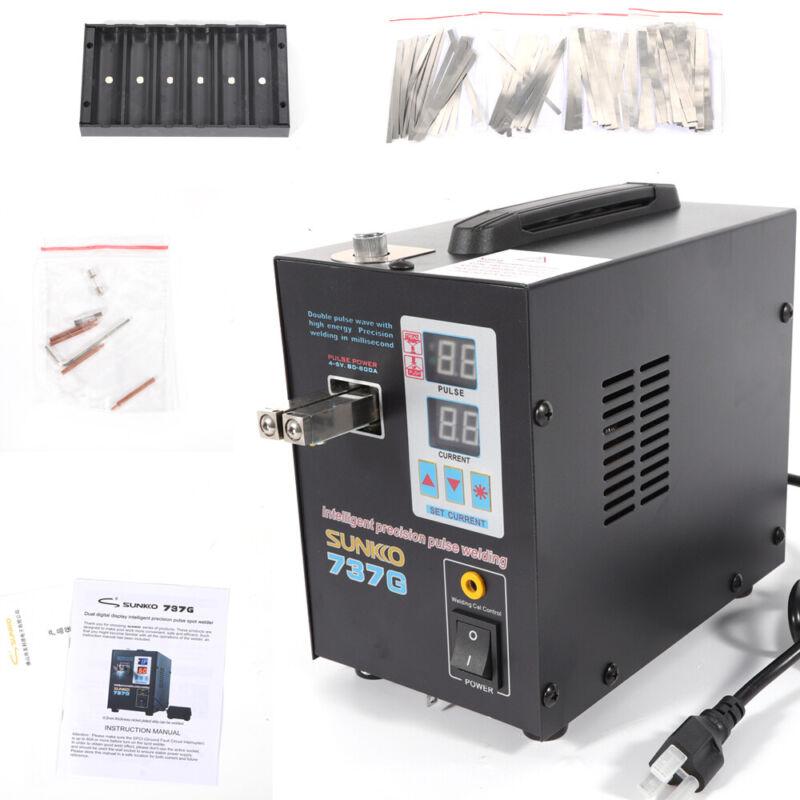 110V 737G Pulse Spot Welder Welding Machine Battery Packs 50A-800A