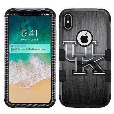 Wildcats Iphone Case - for Apple iPhone X (Ten) Armor Impact Hybrid Cover Case Kentucky Wildcats #BS