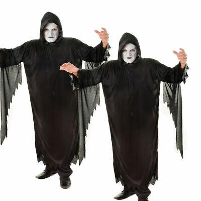 Demon Scream Kostüm Erwachsene Sensenmann Robe Halloween Kostüm Neu