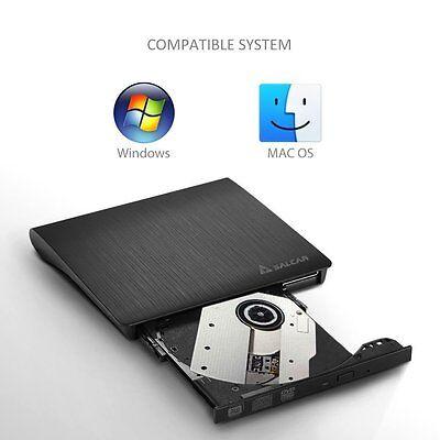 USB3.0 Externes DVD RW Combo Laufwerk CD/DVD Writer Brenner Notebook PC Netbook