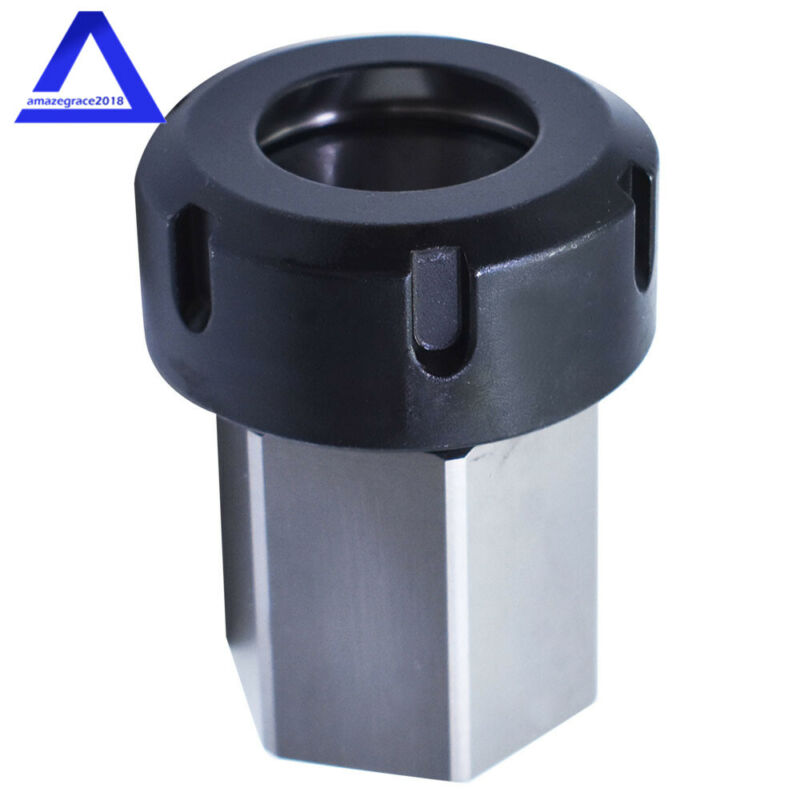 New ER-40 Hex Collet Block Chuck Holder for CNC Lathe Engraving Machine