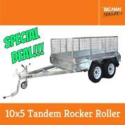 10X5 Galvanised Tandem Heavy Duty Trailer 2000kgATM Dandenong Greater Dandenong Preview
