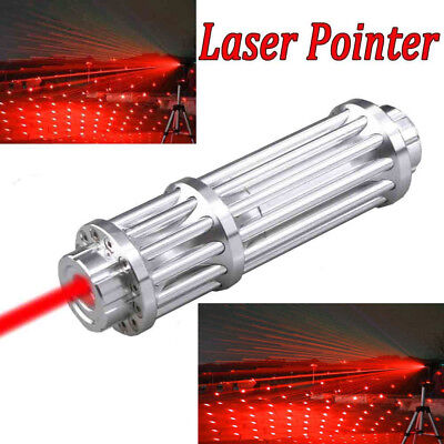 Military 650nm Red Laser Pointer Pen Lazer Strong Powerful Beam Light 1mw