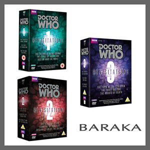 Doctor Who Revisitations Volume 1, 2 & 3 R4 DVD Box Set