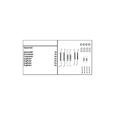 Trommelbremsbelag-Zubehör